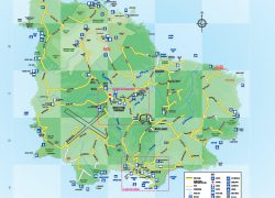 Norfolk island map from library 8