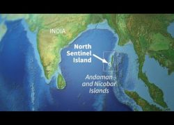 North sentinel island map from youtube 7