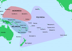 Pacific Islands Map: Pacific islands map from en 1