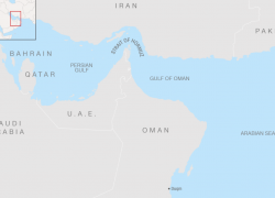 Persian gulf map from foreignbrief 7