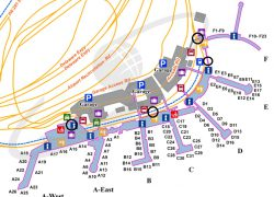Philadelphia airport map from dogsonplanes 4