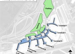 Philadelphia airport map from ifly 5