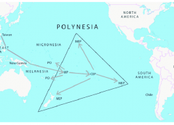 Polynesia Map: Polynesia map from researchgate 1