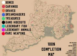 Red dead redemption 2 map from pinterest 2