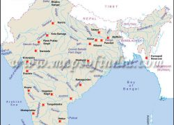 Salal dam on political map of india from brainly 3