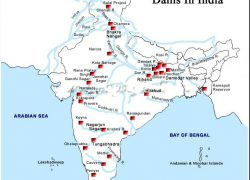Salal dam on political map of india from meritnation 4