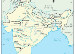 Salal dam on political map of india from meritnation 7