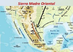 Sierra madre mountains map from socratic 5