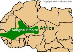 Songhai empire map from ducksters 3