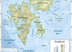 Svalbard map from commons 5