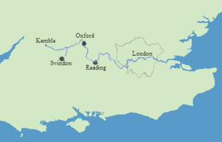 Thames River On Map