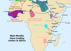 Trans saharan trade route map from pinterest 9