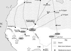 Trans saharan trade route map from researchgate 10