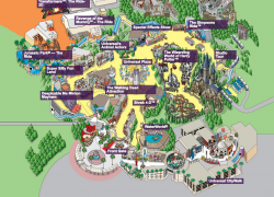 Universal Studios Hollywood Map