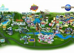 Universal Studios Map: Universal studios map from magicguides 1