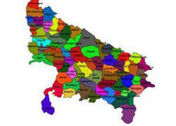 Up District Map: Up district map from in 1