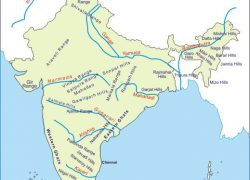 Vindhya range in india map from quickgs 6