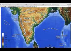 Vindhya range in india map from youtube 8