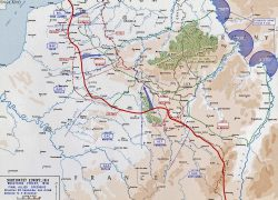 Western front ww1 map from emersonkent 5