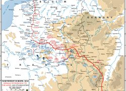 Western front ww1 map from emersonkent 9