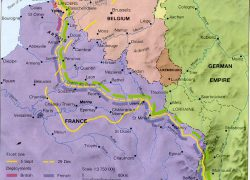 Western front ww1 map from pinterest 4
