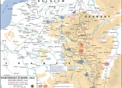 Western front ww1 map from pinterest 8