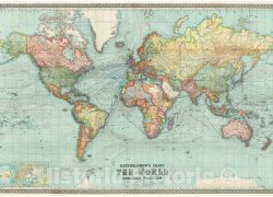 World map 1914 from amazon 4