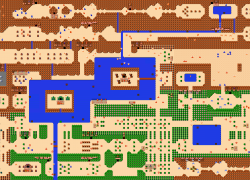 Zelda Nes Map: Zelda nes map from reddit 1