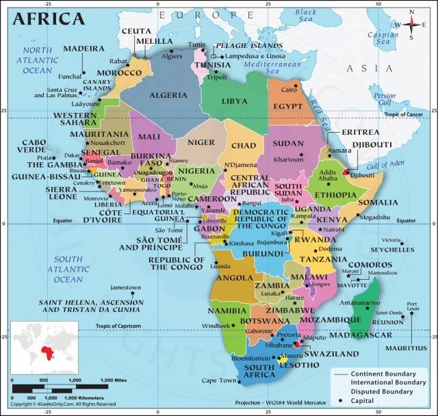 Africa map hd from 4geeksonly 1