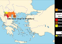 Ancient macedonia map from m 10