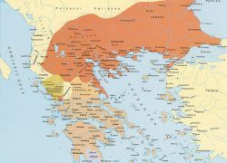 Ancient macedonia map from pinterest 2