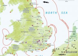 Battle Of Britain Map: Battle of britain map from military history 1