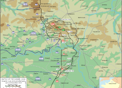 Battle Of Somme Map: Battle of somme map from en 1