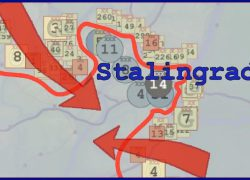 Battle of stalingrad map from m 8