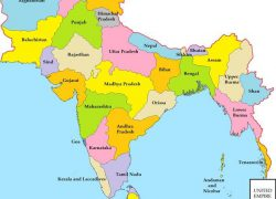 Bharat map from in 2