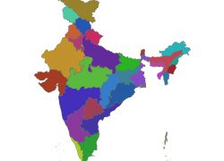 Bharat map from mapservice 10