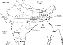 Bhilai iron and steel plant on map from zigya 3