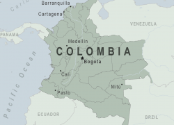 Colombia Map: Colombia map from wwwnc 1