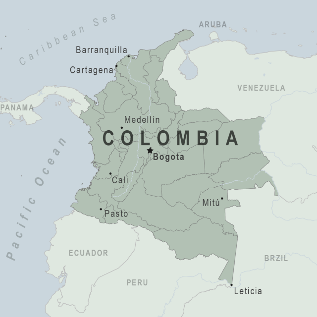 Colombia map from wwwnc 1