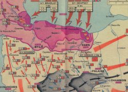 D Day Map: D day map from vox 1