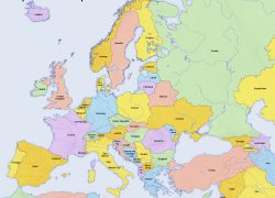 Europe Map Hd: Europe map hd from chameleonwebservices 1
