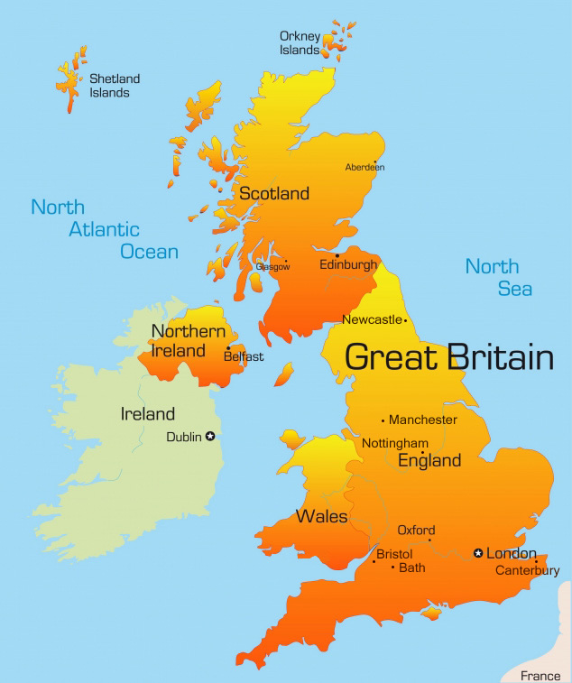 Great britain map from denverlibrary 1
