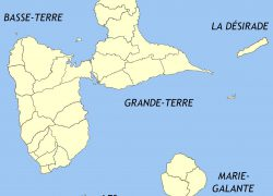 Guadeloupe map from commons 7