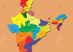 India map 2020 hd from alamy 4