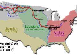 Lewis and clark expedition map from pinterest 8