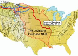 Lewis and clark expedition map from youtube 4