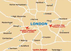 London gatwick airport map from london lgw 9