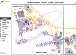 London gatwick airport map from pinterest 4