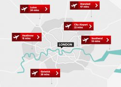 London gatwick airport map from visitlondon 10