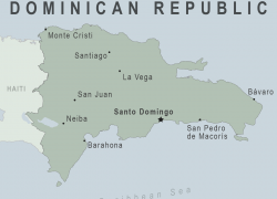 Map of dominican republic from wwwnc 3